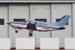 yabyanさんが、名古屋飛行場で撮影した日本法人所有 PA-46-310P Malibuの航空フォト(飛行機 写真・画像)