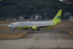 FRTさんが、福岡空港で撮影したジンエアー 737-8B5の航空フォト(飛行機 写真・画像)