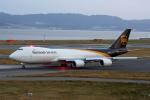 徳兵衛さんが、関西国際空港で撮影したUPS航空 747-8Fの航空フォト(写真)