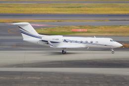 PASSENGERさんが、羽田空港で撮影したエグゼクジェット・ミドル・イースト G350/G450の航空フォト(飛行機 写真・画像)