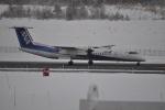 やす!さんが、青森空港で撮影したANAウイングス DHC-8-402Q Dash 8の航空フォト(写真)