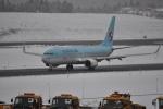 やす!さんが、青森空港で撮影した大韓航空 737-8LHの航空フォト(写真)