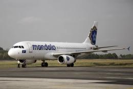 planetさんが、アジスチプト国際空港で撮影したマンダラ・エアラインズ A320-232の航空フォト(飛行機 写真・画像)