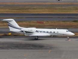 FT51ANさんが、羽田空港で撮影したエグゼクジェット・ミドル・イースト G-IV-X Gulfstream G450の航空フォト(飛行機 写真・画像)