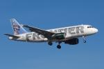 zettaishinさんが、ハーツフィールド・ジャクソン・アトランタ国際空港で撮影したフロンティア航空 A319-112の航空フォト(写真)