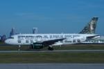 zettaishinさんが、シャーロット ダグラス国際空港で撮影したフロンティア航空 A319-112の航空フォト(写真)
