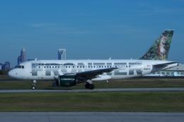 zettaishinさんが、シャーロット ダグラス国際空港で撮影したフロンティア航空 A319-112の航空フォト(飛行機 写真・画像)