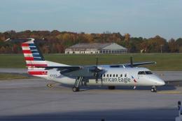 zettaishinさんが、シャーロット ダグラス国際空港で撮影したアメリカン・イーグル DHC-8-311 Dash 8の航空フォト(飛行機 写真・画像)