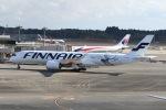 シュウさんが、成田国際空港で撮影したフィンエアー A350-941XWBの航空フォト(写真)