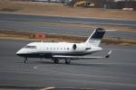 シュウさんが、成田国際空港で撮影した不明 CL-600-1A11 Challenger 600の航空フォト(写真)