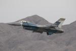 TAKA-Kさんが、ネリス空軍基地で撮影したアメリカ空軍 F-16C-25-CF Fighting Falconの航空フォト(写真)