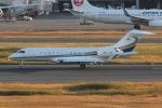 mototripさんが、羽田空港で撮影したベルジャヤ・エア BD-700-1A11 Global 5000の航空フォト(写真)