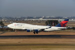 kumagorouさんが、仙台空港で撮影したデルタ航空 747-451の航空フォト(写真)