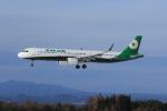 marariaさんが、青森空港で撮影したエバー航空 A321-211の航空フォト(写真)