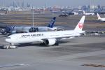 いっとくさんが、羽田空港で撮影した日本航空 777-346/ERの航空フォト(写真)