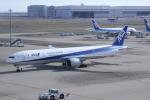 いっとくさんが、羽田空港で撮影した全日空 777-381/ERの航空フォト(写真)