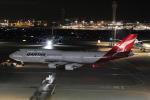 幹ポタさんが、羽田空港で撮影したカンタス航空 747-438/ERの航空フォト(写真)