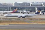 幹ポタさんが、羽田空港で撮影したルフトハンザドイツ航空 A340-642の航空フォト(写真)