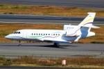 ばっきーさんが、羽田空港で撮影したSASインスティチュート Falcon 900EXの航空フォト(写真)
