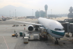 JA8075さんが、香港国際空港で撮影したキャセイパシフィック航空 777-367の航空フォト(写真)