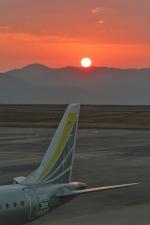 岡山空港 - Okayama Airport [OKJ/RJOB]で撮影されたフジドリームエアラインズ - Fuji Dream Airlines [JH/FDA]の航空機写真