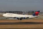 たろりんさんが、仙台空港で撮影したデルタ航空 747-451の航空フォト(写真)