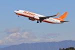 じゃりんこさんが、静岡空港で撮影したチェジュ航空 737-8ASの航空フォト(写真)