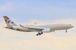 ぽっぽさんが、フランクフルト国際空港で撮影したエティハド航空 A330-243の航空フォト(写真)