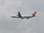 FRTさんが、成田国際空港で撮影したスイスインターナショナルエアラインズ A340-313Xの航空フォト(飛行機 写真・画像)