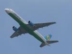 FRTさんが、成田国際空港で撮影したウズベキスタン航空 757-23Pの航空フォト(飛行機 写真・画像)