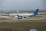 FRTさんが、関西国際空港で撮影したガルーダ・インドネシア航空 A330-343Xの航空フォト(飛行機 写真・画像)