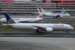 ばっきーさんが、羽田空港で撮影したユナイテッド航空 787-9の航空フォト(写真)