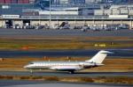 ハピネスさんが、羽田空港で撮影したビスタジェット BD-700-1A10 Global 6000の航空フォト(飛行機 写真・画像)
