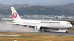 誘喜さんが、出雲空港で撮影した日本航空 767-346/ERの航空フォト(写真)