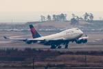 YAMMARさんが、仙台空港で撮影したデルタ航空 747-451の航空フォト(写真)