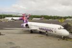 たーしょ@0525さんが、ダニエル・K・イノウエ国際空港で撮影したハワイアン航空 717-22Aの航空フォト(写真)