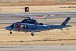 yabyanさんが、名古屋飛行場で撮影した佐賀県警察 AW109SPの航空フォト(飛行機 写真・画像)