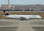 じーく。さんが、羽田空港で撮影したルフトハンザドイツ航空 A350-941XWBの航空フォト(写真)