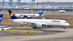 ぱん_くまさんが、羽田空港で撮影したルフトハンザドイツ航空 A350-941XWBの航空フォト(写真)