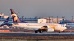 パンダさんが、成田国際空港で撮影したMIATモンゴル航空 737-71Mの航空フォト(写真)