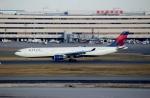 ハピネスさんが、羽田空港で撮影したデルタ航空 A330-302の航空フォト(飛行機 写真・画像)