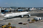 Gambardierさんが、フランクフルト国際空港で撮影したルフトハンザドイツ航空 A340-642の航空フォト(写真)