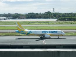 チャッピー・シミズさんが、ニノイ・アキノ国際空港で撮影したセブパシフィック航空 A320-214の航空フォト(写真)