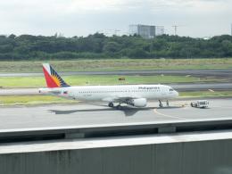 チャッピー・シミズさんが、ニノイ・アキノ国際空港で撮影したフィリピン航空 A320-214の航空フォト(写真)
