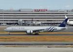 じーく。さんが、羽田空港で撮影したガルーダ・インドネシア航空 777-3U3/ERの航空フォト(写真)