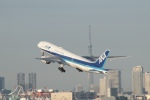 鷹輝@SKY TEAMさんが、羽田空港で撮影した全日空 777-281/ERの航空フォト(写真)