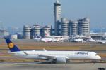 さくらの城南山。さんが、羽田空港で撮影したルフトハンザドイツ航空 A350-941の航空フォト(飛行機 写真・画像)
