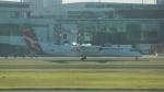FRTさんが、シドニー国際空港で撮影したサンステート・エアラインズ DHC-8-402Q Dash 8の航空フォト(飛行機 写真・画像)