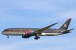 安芸あすかさんが、スワンナプーム国際空港で撮影したロイヤル・ヨルダン航空 787-8 Dreamlinerの航空フォト(写真)