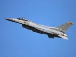 月明さんが、新田原基地で撮影したアメリカ空軍 F-16CM-50-CF Fighting Falconの航空フォト(飛行機 写真・画像)